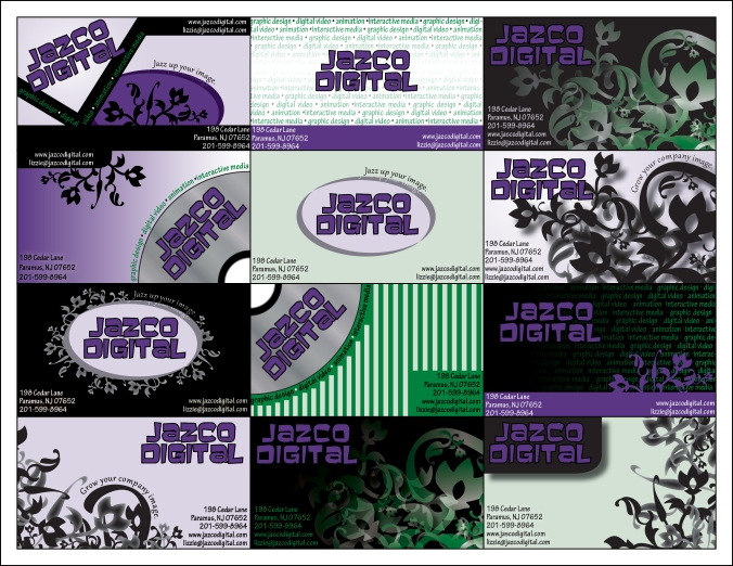 Jazco Digital business cards