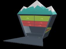 Rocks Box - 3D Model