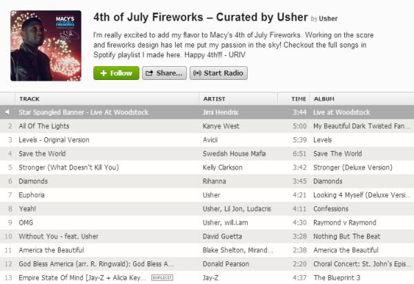 source: http://www.spotifycelebrityplaylists.com/2013/07/usher-macys-4th-of-july-fireworks.html#.Udb8mvnvt8F