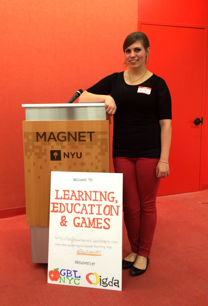 Learning, Education and Games - book launch & panel w/ IGDA NY LEG and GBLNYC